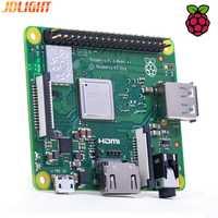 Nueva Raspberry Pi 3 modelo + Plus 1,4 GHz 4-Core CPU 512 MB LPDDR2 Pi 3A + con dual-band LAN inalámbrica y Bluetooth 4,2 disipador de calor
