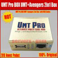 2019 más nuevo 100% Original UMT Pro caja de UMT + vengadores 2in1 BOX con 1 Cables USB envío gratis