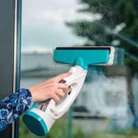 Inalámbrico seco mojado de inicio de mano poderosa de alta potencia pequeña de carga inalámbrico Ultra-silenciosa ventana máquina de limpieza