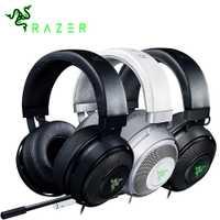 Razer Kraken 7,1 Chroma V2 USB Gaming Headset con retráctil micrófono Digital y croma iluminación gaming auriculares