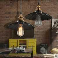 América rústico vendimia Lámparas colgantes para comedor en loft Iluminación industrial lámpara suspensión luminaria