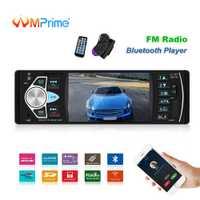 AMPrime 4022D 4,1 ''pantalla Digital 1Din coche Radio soporte USB AUX FM BT volante Control remoto con reverso cámara