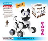 2017 inteligente eléctrico perro voz comando perro marioneta cantando perro caminando juguetes perros inteligentes para niños regalos chico de Navidad con caja Original