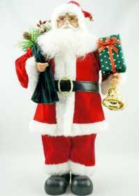 Cosette clásico nuevo pie Pose hecho a mano Santa Claus hogar colección decoración regalos 18