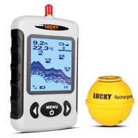 Detector de sondas de pesca, Detector de sondas de pesca, Sonar inalámbrico profesional 15% con matriz de puntos