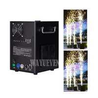2 piezas efectos especiales China fuegos artificiales fríos boda máquina DMX fuente chispa máquina de fuegos artificiales