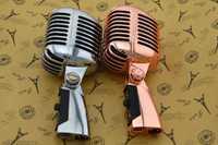Profesional cable micrófono Vintage clásico de calidad superior dinámica bobina Mike Deluxe Metal Vocal estilo antiguo micrófono Ktv Z6 mike