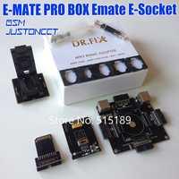 EMMC pro adaptador para fácil JTAG/fácil JTAG macho/UFI/RIFF/RIFF2/Medusa/GPG /ORT eMMC caja programador leer BGA153/162/221/529