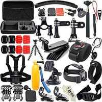 Juego de accesorios DOITOP para Gopro para go pro hero 5 4 3 Kits de accesorios de cámara de acción para xiaomi yi xiaomi 4 k para gopro 50 en 1