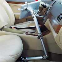 Vmonv multifonction 360 degrés Flexible extensible bras voiture tablette support pour 4 à 10 pouces Iphone Ipad support de tablette support de chaise longue