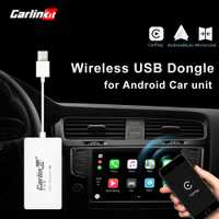 Mini clé USB avec Android Auto Carlinkit sans fil Smart Link Apple CarPlay Dongle pour lecteur de Navigation Android