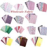 Venta al por mayor * 22*30 cm de Artificial sintético tela de cuero para vacaciones DIY de coser bolsas de tela Knotbow Patchwork materiales