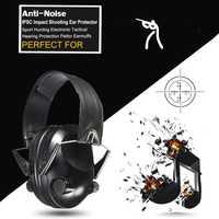 Venta caliente Anti-ruido impacto deporte caza electrónico táctico auricular disparo auriculares protectores protección auditiva Peltor orejeras