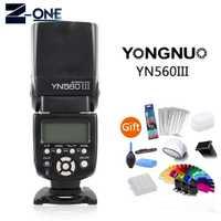 Yongnuo YN-560III flash profesional flash para Canon 80D M6 60D 600D 800D 70D 700D 200D 77D 750D 1500D 760D 5D 6D 7D