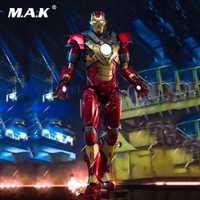 DFS007 1/9 conjunto completo figura serie Iron Man 3 MK17 Heartbreaker Mark17 Diecast figura de acción modelo juguetes para los ventiladores de frío regalo