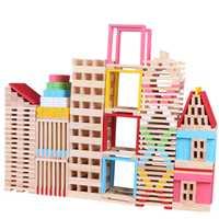 Bebé juguetes de madera juguetes de 3D rompecabezas DIY Villa educativo juegos de los niños, juguetes de madera, bebé Regalo de Cumpleaños juguetes de los niños 150 piezas