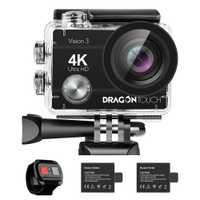 Cámara de Acción AKASO Vision 3 pro Ultra HD 4K 30m impermeable 2,0 'pantalla 1080p Cámara deportiva deportiva ir extrema Pro Cam
