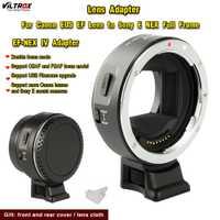 Viltrox EF-NEX IV adaptador de lente para Canon Sony lente para Canon EOS EF lente Sony E NEX completa AII7 A7RII lente convertidor