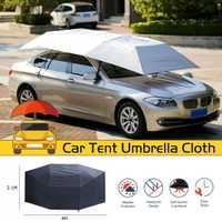 Impermeable Anti UV completamente automático coche exterior vehículo tienda paraguas sombrilla cubierta de techo coche paraguas parasol paño reemplazable