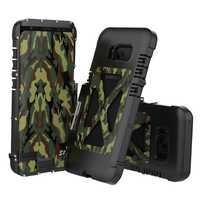 De acero inoxidable caso para Samsung Galaxy S8/S8 Plus 360 protección completa protección resistente soporte s8 S8 Plus