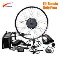 36 V 500 W Kit de conversión de la bici eléctrica con batería de litio bicicleta eléctrica de rueda de Motor de bicicleta eléctrica Kit de bicicleta de montaña kit de bicicleta