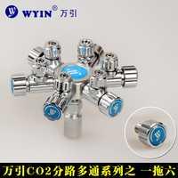 W02-06 CO2 de descompresión de multipass de camino