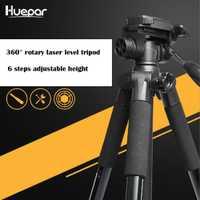 Huepar Multi-función de altura ajustable espesar de aluminio nivel láser trípode/4