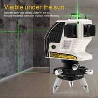 Nuevo 3D XE-90G 12 líneas láser verde nivel láser verde de haz de línea-nivelación 360 Horizontal y Vertical poderoso