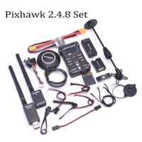 Pixhawk PX4 PIX 2.4.8 32 poco controlador de vuelo 433/915/100 MW telemetría M8N GPS Minim OSD PM de seguridad interruptor timbre PPM I2C
