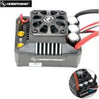 Hobbywing EzRun Max6 V3 160A controlador de velocidad impermeable sin escobillas ESC XT60/TRX macho para 1/6 RC Coche