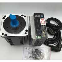 Nuevo Delta 2KW 3PH 220 V 3000 rpm AC servo motor de 2000 W 6.37NM 100 MM ECMA-C21020RS + ASD-B2-2023-B y Cable de 3 m