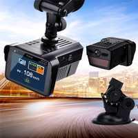 2 in1 1080 p a nivel mundial Universal Recorder tráfico móvil velocidad anti Radar 3 ciudad 1 modo de láser de coches DVR detectores de Radar