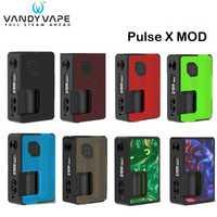 Original Vandy Vape pulso X Mod 90 W pulso X BF caja Mod Vape con 8 ml Squonk de electrónica cigarrillo Vape del pulso 80 W Mod