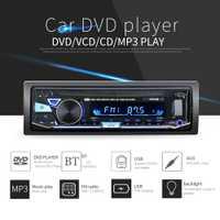 Solo Din 12 V Car DVD reproductor de CD con BT 7010B vehículo MP3 manos libres estéreo Autoradio Audio Radio remoto inalámbrico control