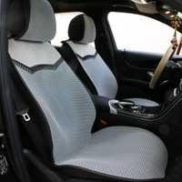 1 dos ou 2 avant coussin de siège Automobile respirant/3D Air mesh tapis de couverture de siège de voiture adapté à la plupart des voitures camions SUV protéger les sièges