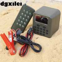 De alta potencia 210 sonidos de aves 50 W Caza MP3 pájaro llamador player Decoy altavoz con control remoto