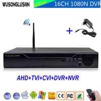 1080N 16 canales 16CH 5 en 1 Wifi híbrido Coaxial vmeyesuper de DVR Onvif P2P Wifi 1080 p NVR CVI TVi AHD IP CCTV Cámara