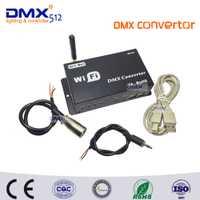 2017 Nuevo Sistema Venta caliente WiFi llevó controlador DMX convertidor por Android o iOS sistema Wifi multi punto WiFi DMX controlador