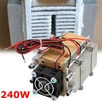 1 unidad Semiconductor de 240 W unidad de refrigeración máquina de aire acondicionado núcleo dispositivo refrigerado por agua coche Micro aire acondicionado herramientas