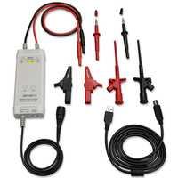 Kit de sonda diferencial de alta tensión piezas y accesorios de 1300 V 100 MHz 3.5ns tiempo de subida 50X/500X tasa de atenuación osciloscopio