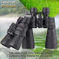 Ledarnell 10-30X50/60 profesional zoom óptico alta calidad monocular prismáticos telescopio impermeable para viajes de caza