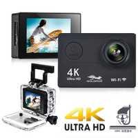H9R H9 Ultra HD 4K Cámara de Acción 30m impermeable casco Cámara 2,0 ''pantalla Wifi 1080P deporte cámara extreme pro cam Mini DVR