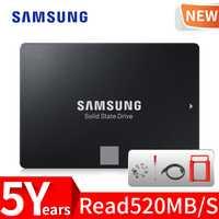 Samsung 860 EVO 250 GB SSD 500 GB 1 TB interno de estado sólido disco Disco Duro HDD SATA3 2,5 pulgadas escritorio del ordenador portátil PC disco HD SSD
