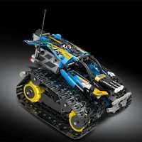 Las pequeñas partículas bloques de construcción de juguetes Robot de modelo de coche de Control remoto juguetes de bloques de construcción de juguetes educativos para niños