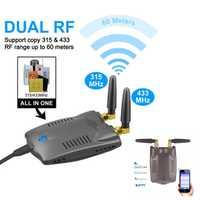 Wifi inteligente de doble banda a 433 315 MHz RF fácil micro-link app control remoto interruptor temporización alarma de seguridad host para Ewelink