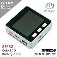 Série M5Stack ESP32 Mpu9250 9 Axies Kit de développement de noyau de capteur de mouvement Extensible carte de développement IoT M5Stack pour Arduino ZK10