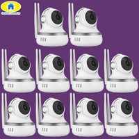 10 unids/lote 720 P de almacenamiento en la nube Cam WiFI cámara IP detección de movimiento de APP bebé Monitor cámara de seguridad para 2018