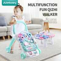Andador con música para niños cochecito multifunción tanque de agua ajustable para bebés Primeros pasos Carro de juguete