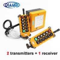 220VAC 12 V 24 V 36 V 380 V grúa inalámbrica de Control remoto F23-A + + S Control remoto Industrial de elevación crane interruptor de botón de empuje