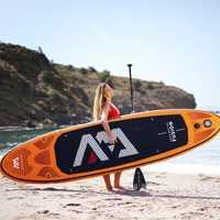 Planche de surf gonflable 315*75*15cm FUSION 2019 stand up paddle planche de surf AQUA MARINA planche de sport nautique ISUP B01004